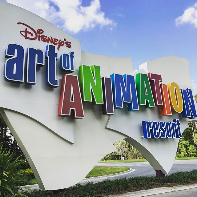 Quick stop @waltdisneyworld before heading south for work/play. We of course stayed at the Art of Animation.