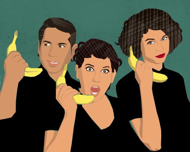 Hello. Hello? Hello! (illustration by Margarita Korol)