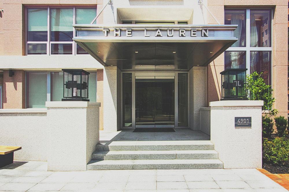 The Lauren Residence Entrance • Image Provided by The Lauren Residences