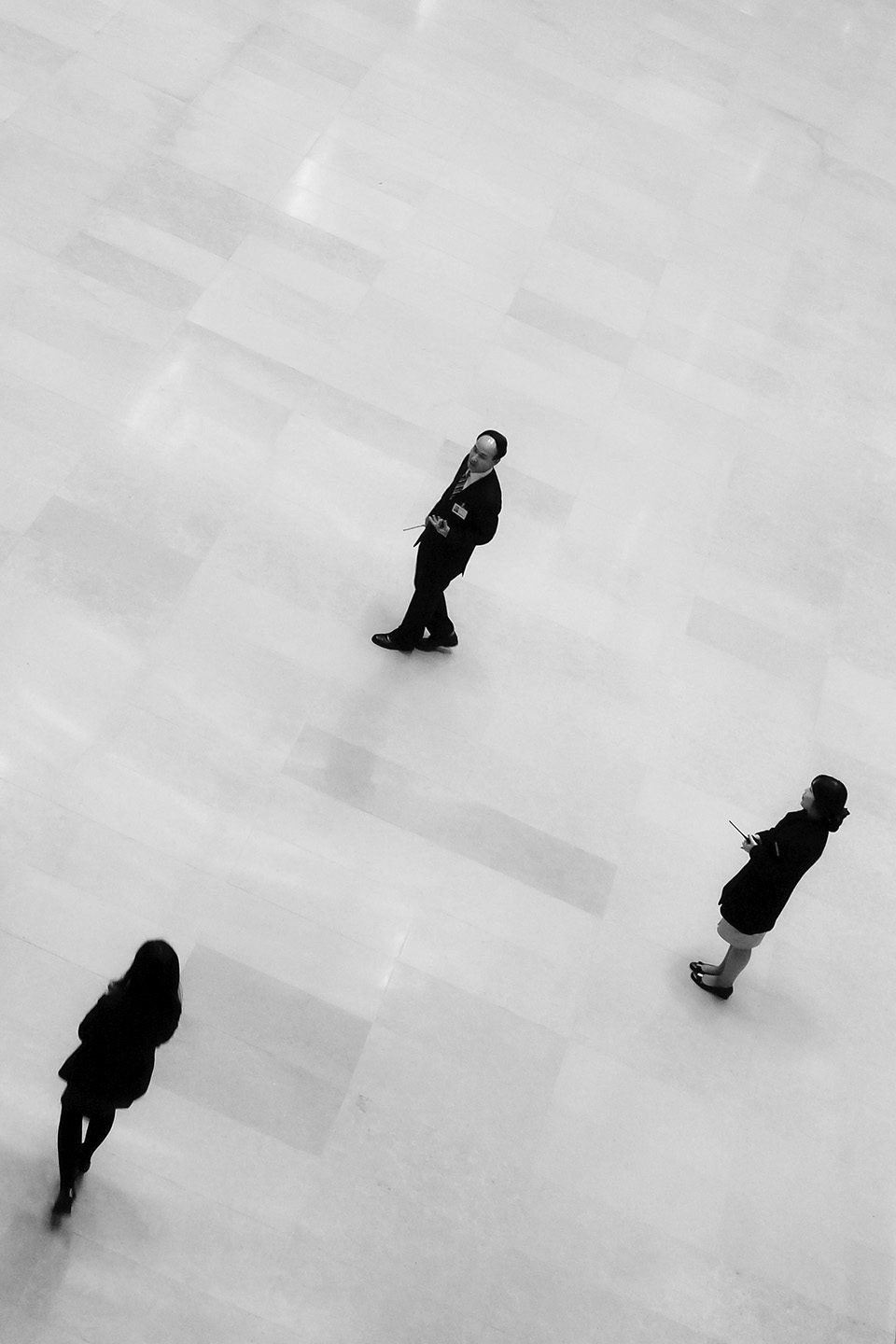 """you're the one   from the """"WalkStraight Down theMiddle"""" series  National Museum:Seoul,South Korea 2009"""