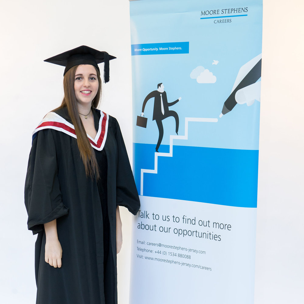 Charlotte completed her Undergraduate Employment Programme placement at Moore Stephens, and accepted a role as trainee trust administrator at Moore Stephens after graduation.