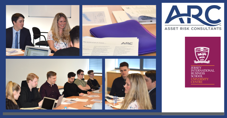 Maria Gardner, a Senior Investment Analyst at Asset Risk Consultants (ARC), was joined by JIBS degree alumnus Ben Channing, now also working at ARC.