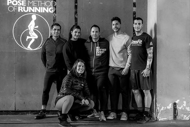 Training is nothing but learning by doing, and education is the key to success. @posemethod @coachposerunning @crossfitsantmarti