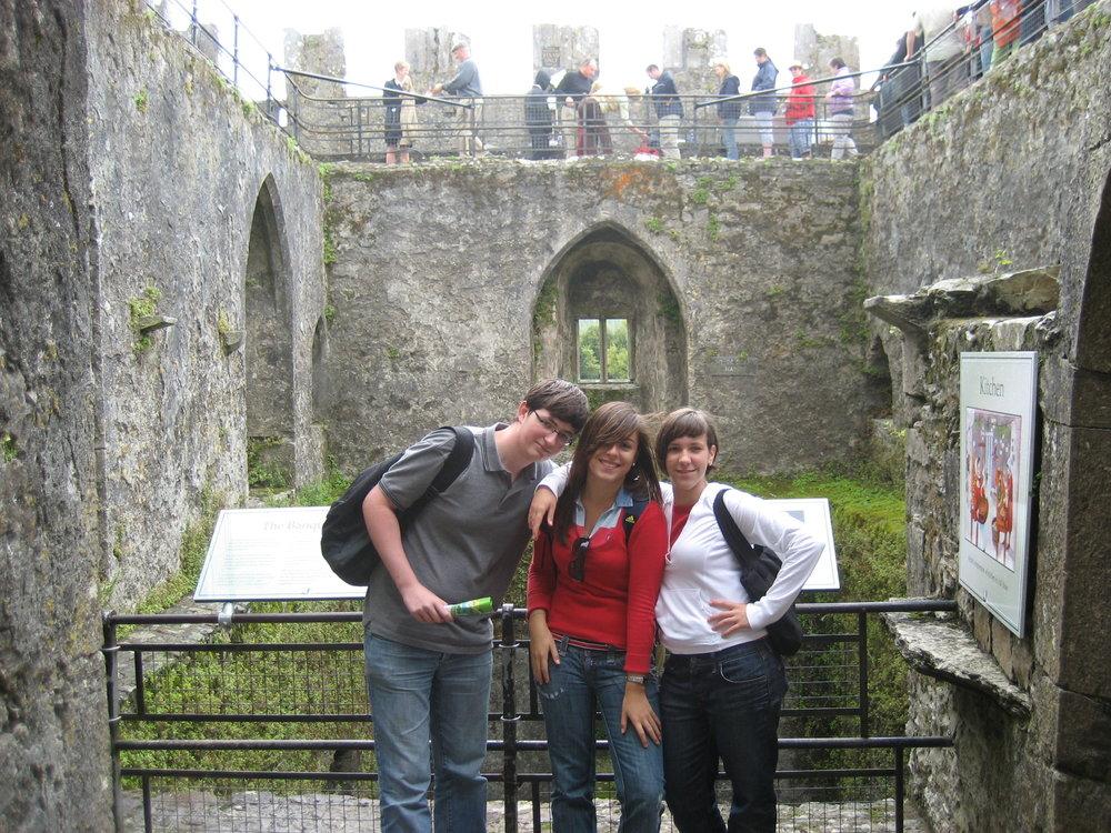 Junior group at Blarney Castle.JPG