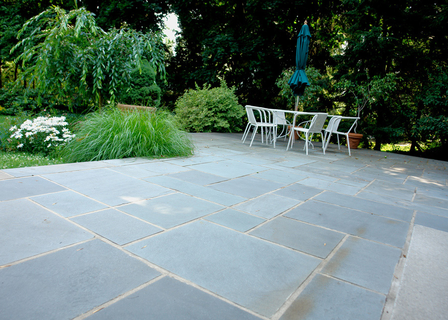 Mortared Bluestone