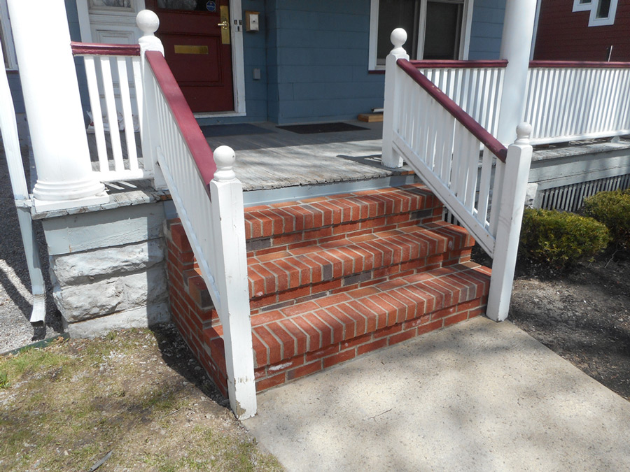 Brick Step Repair: After