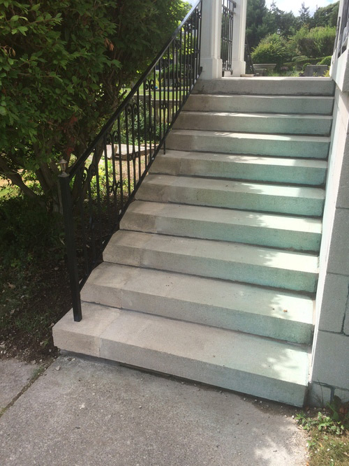 Stone Step Repair: After