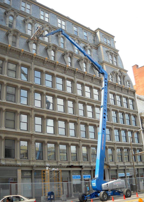 Powers Building: Cast Iron Repair