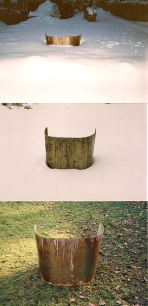 Untitled: Steel & Snow