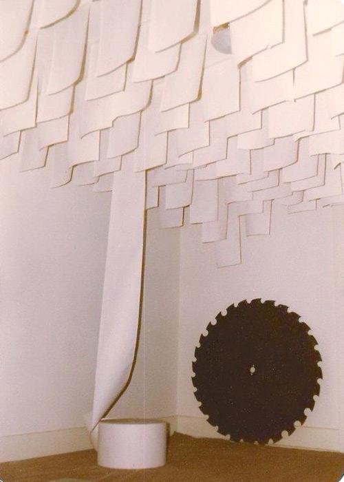 Untitled: Steel & Paper