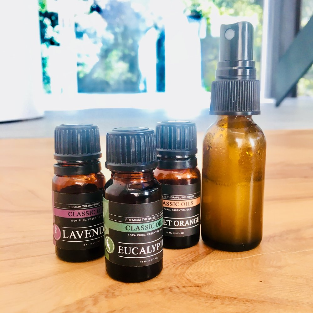 Essential Oils - I turn myself on when... I smell something I love.I have a little spritzer on my desk that consists of rose water plus a few drops of essential oils. It's a little thing brings me pleasure through igniting my sense of smell.