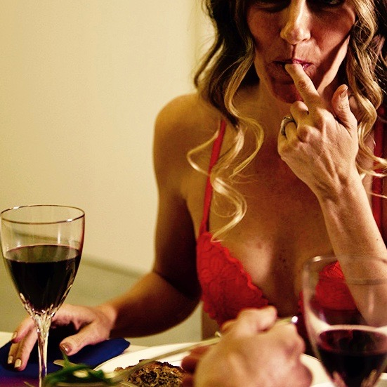 Sexy Routine - I turn myself on when... I eat dinner in my underwear.It is so much fun to turn routine daily activities like showering, getting dressed, cooking or eating dinner into something a little less routine and a lot more naughty.