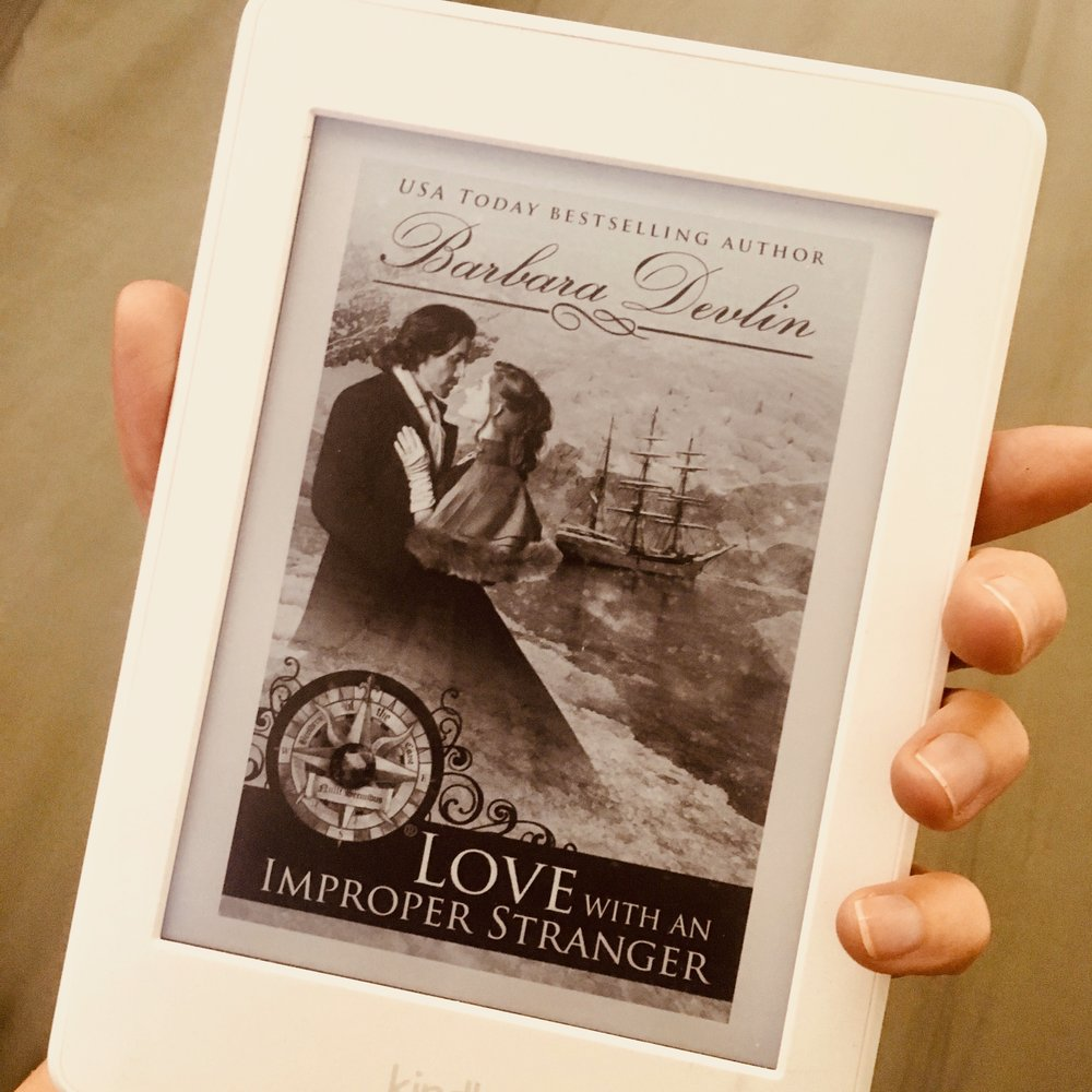 Romance Novels - I turn myself on when... I read a trashy romance novel.I literally own a Kindle just for the romance novels. I love reading about two people who shouldn't be together, but then get together and can't take their hands off each other. It is hot hot hot.
