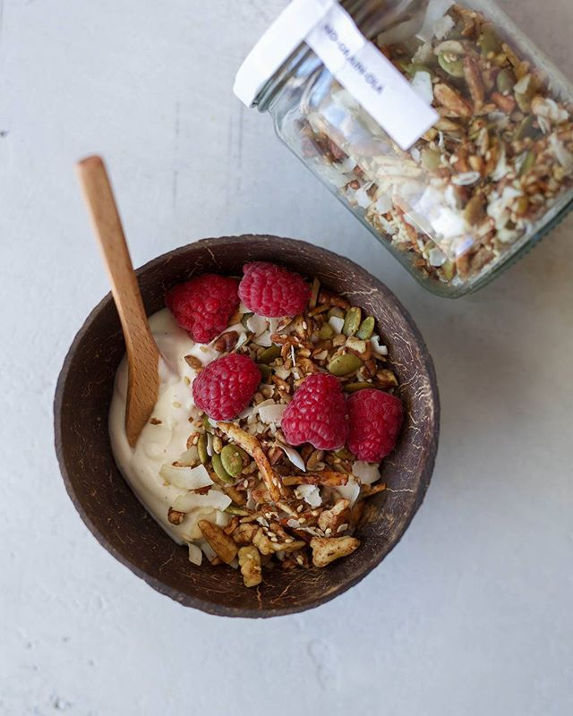 Have you ordered our paleo granola and our coconut yogurt? You can order jars so you can create your own breakfast every morning