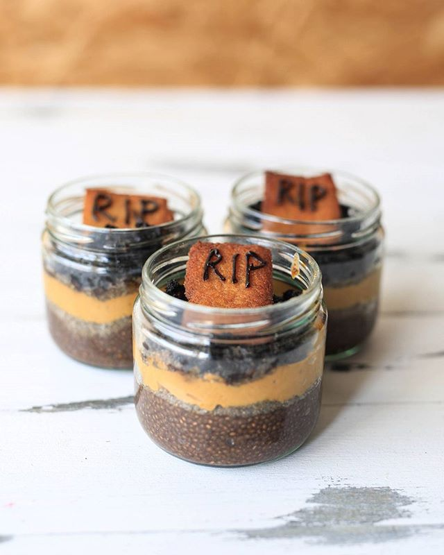 Limited edition pumpkin and chocolate Halloween parfaits are hitting coolers next week. Add it to your order by 12 PM tomorrow.