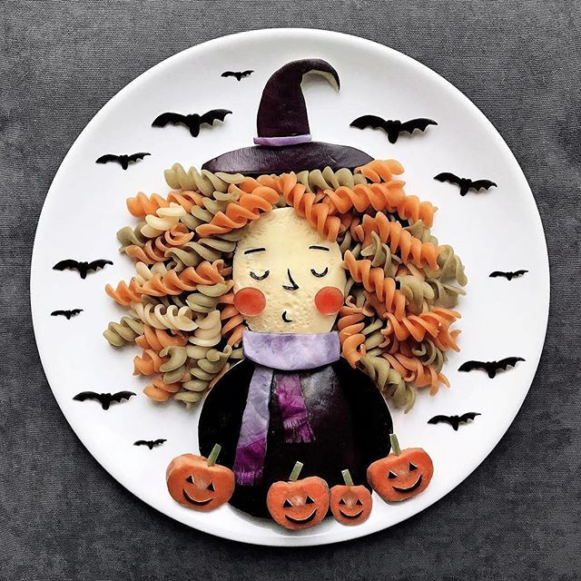 Happy Halloween! Gotta love when Halloween falls on a Tuesday. Feels like we've been celebrating it for a week 👻 Our team went to Fright Fest at Six Flags last night. Check out our stories to see a few of their beautiful faces. Plate art from one of the most talented food stylists in the world: @darynakossar you've outdone yourself again!