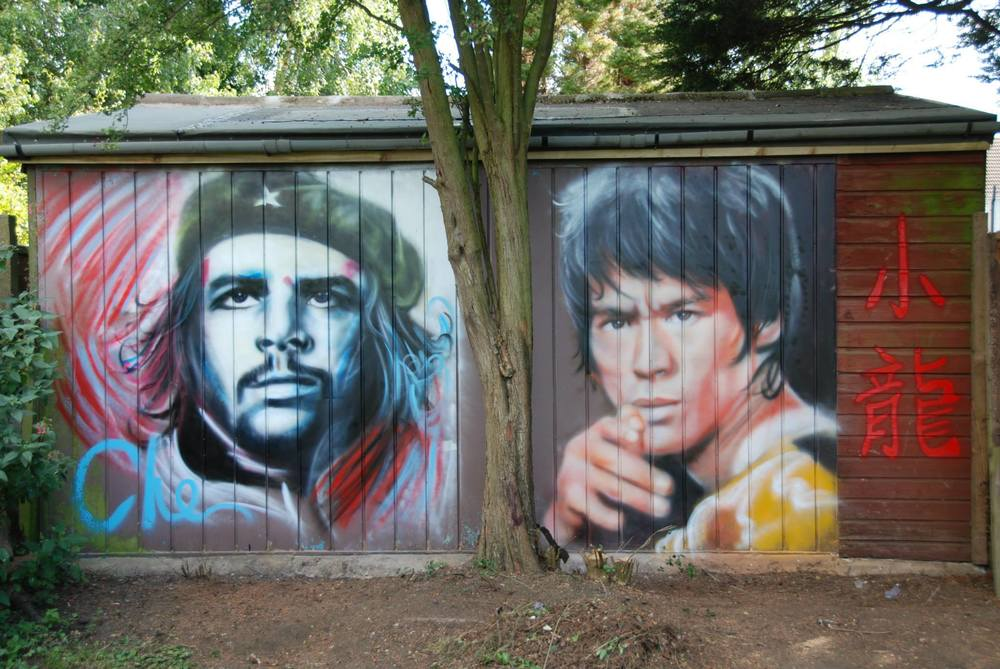 Che Guevara & Bruce Lee