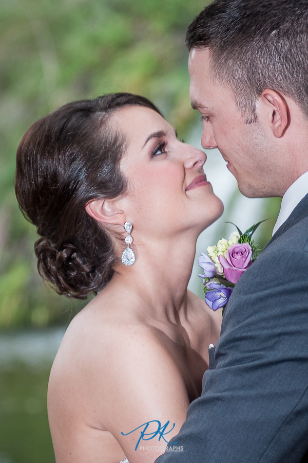 Bride and Groom on their Wedding Day -  San Antonio Wedding Photographer