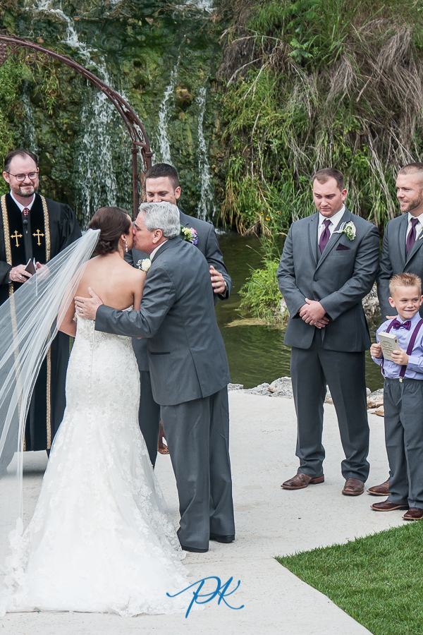 Giving Away the Bride -  San Antonio Wedding Photographer
