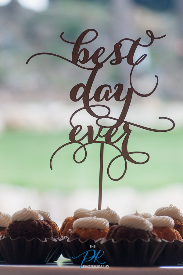 Best Day Ever Cake Topper -  San Antonio Wedding Photographer