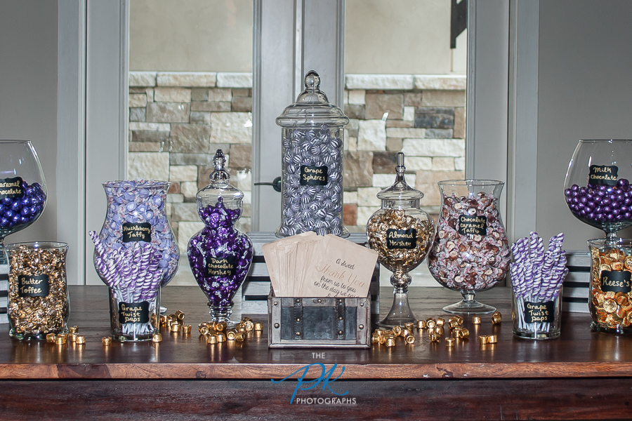 Candy Table -  San Antonio Wedding Photographer