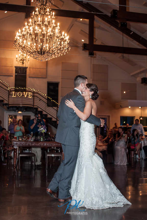 First Dance as Husband and Wife -   San Antonio Wedding Photographer