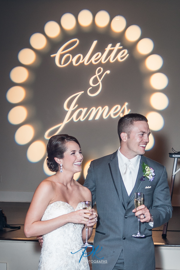 Bride and Groom Toasts -  San Antonio Wedding Photographer