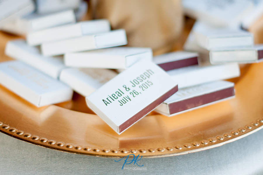 Personalized Matchboxes as Wedding Favors - San Antonio Wedding Photographer