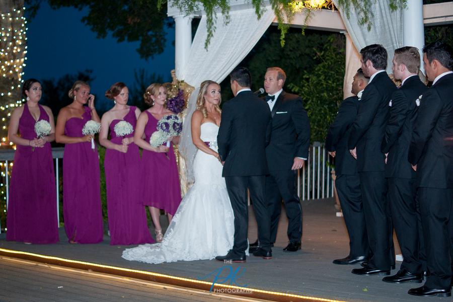 Bridal Party During Wedding -San Antonio Wedding Photographer