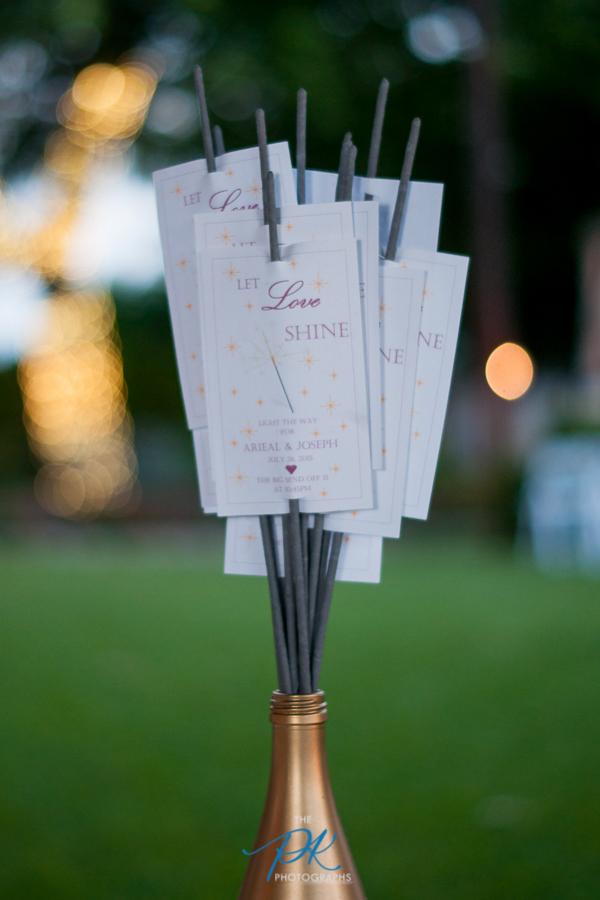 Sparklers - San Antonio Wedding Photographer