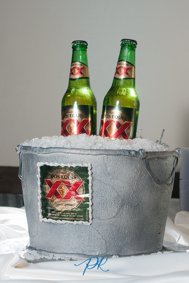 Dos Equis Groom's Cake - San Antonio Wedding Photographer