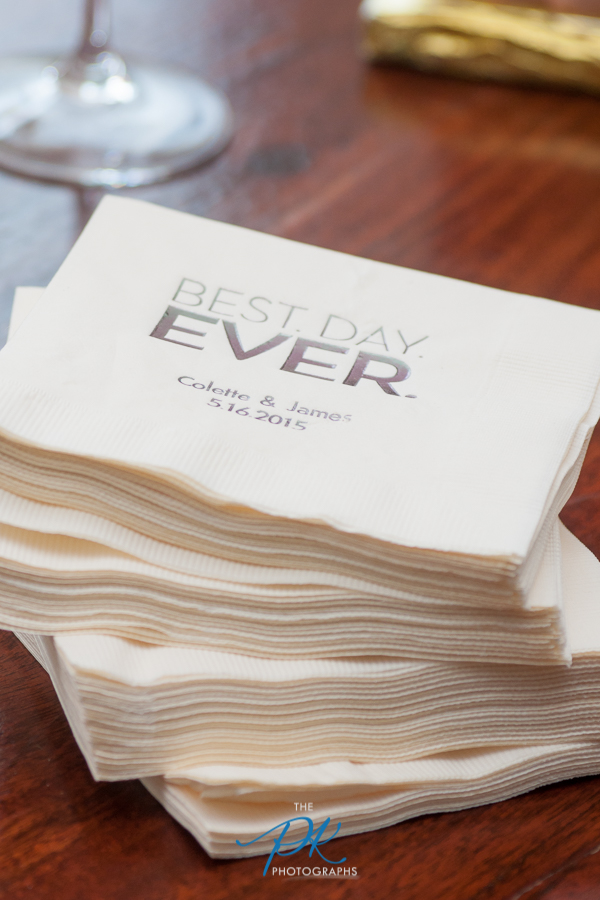 Personalized Napkins - San Antonio Wedding Photographer