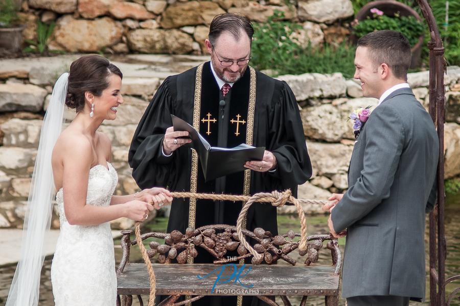 Tying the Knot Wedding Ceremony - San Antonio Wedding Photographer