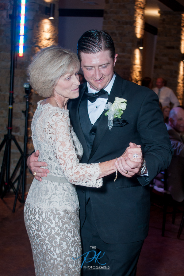 Nelson's dance with his mother at his wedding reception.