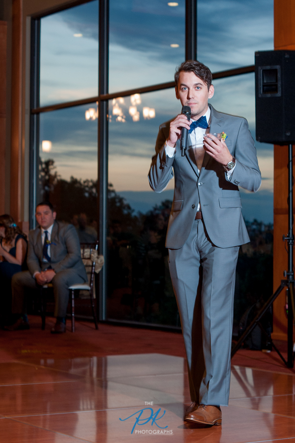 Best Man Toast at Cana Ballroom - San Antonio Wedding Photographer