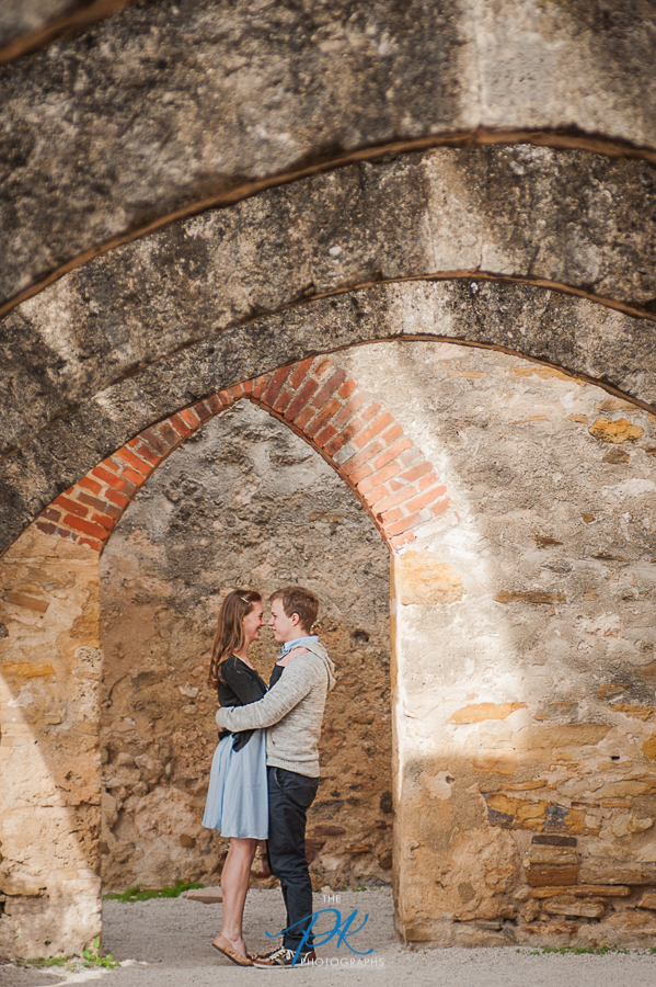 San Antonio Missions - Engagement and Wedding Photographer