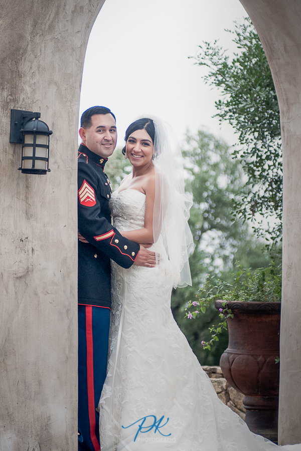 Bride and Groom - San Antonio Wedding Photographer
