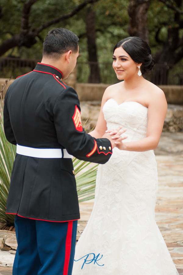 Lost Missions First Look - San Antonio Wedding Photographer