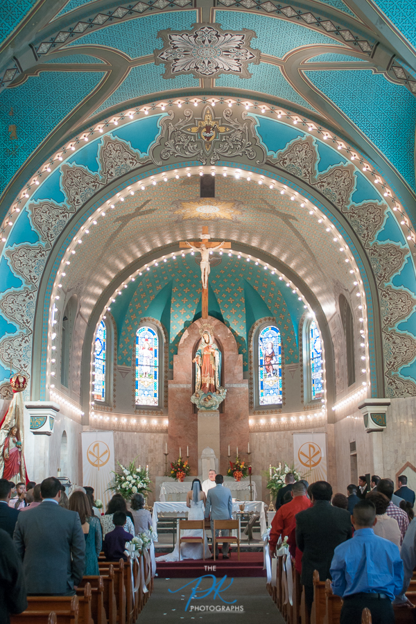 Immaculate Heart Mary Church  -   San Antonio Wedding Photography