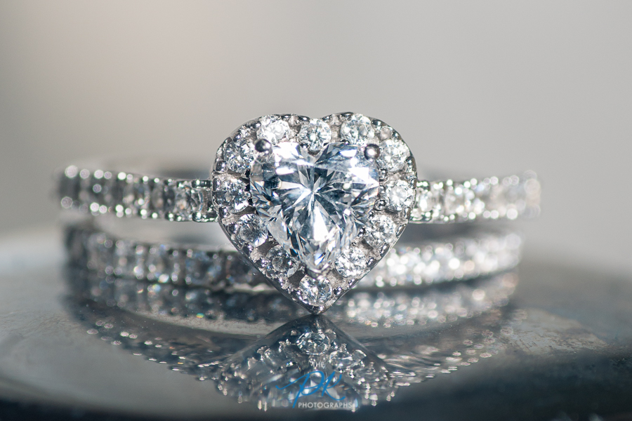 Heart Shaped Engagement Ring - San Antonio Wedding Photographer