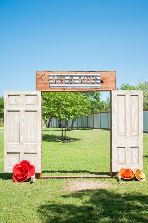 Wedding Decor at Rock House Hideaway in Fredericksburg, Texas by San Antonio Wedding Photographer Parker Radbourne