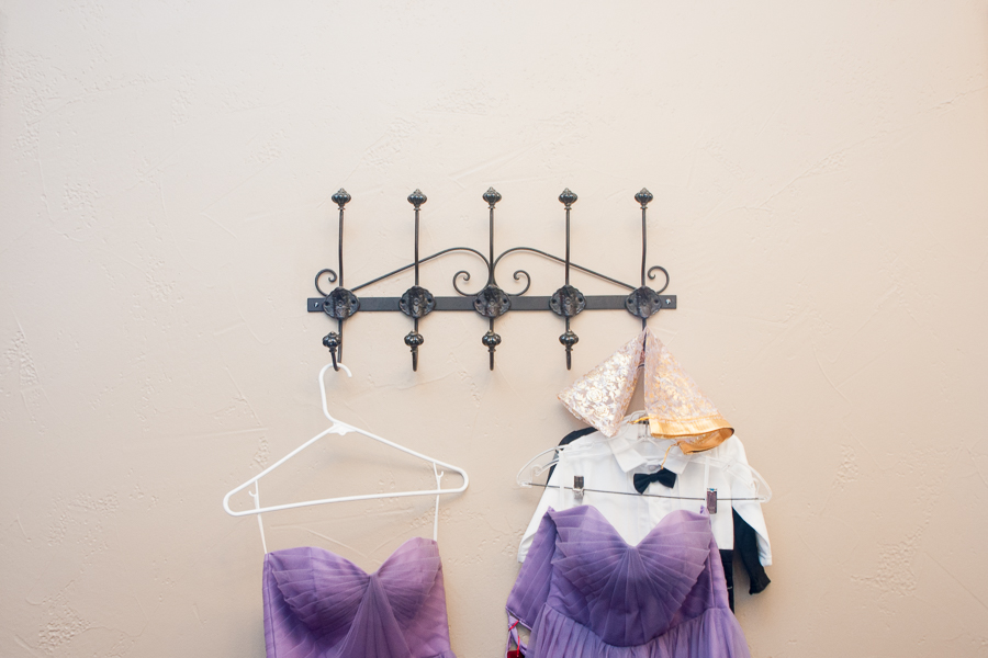 Bridesmaid Dresses Hanging | San Antonio Wedding Photographer