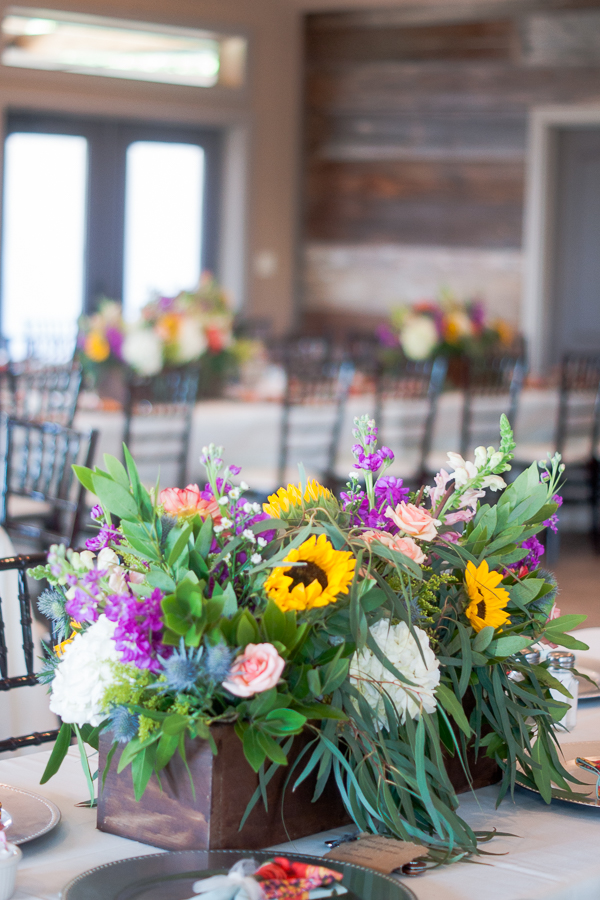 Wedding Reception Decor at Rock House Hideaway in Fredericksburg, Texas by San Antonio Wedding Photographer Parker Radbourne