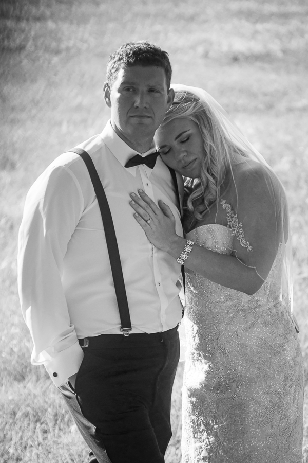 Bride and Groom at Rock House Hideaway in Fredericksburg, Texas by San Antonio Wedding Photographer Parker Radbourne