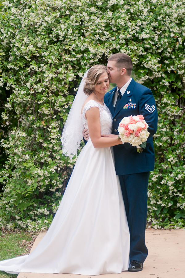 Newlyweds at Spinelli's Hill Country Wedding Venue | San Antonio Wedding Photographer