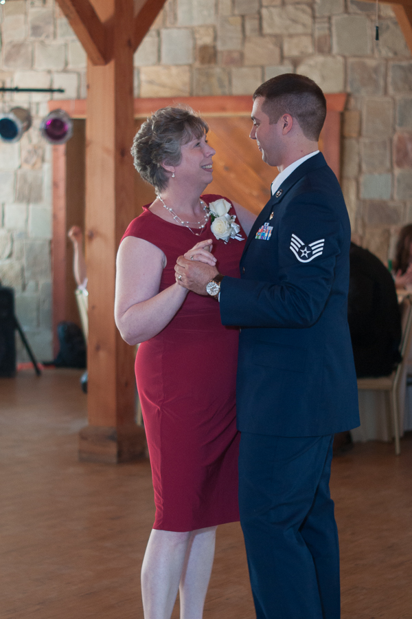 Mother-Son Dance at Spinelli's Hill Country Wedding Venue | San Antonio Wedding Photographer