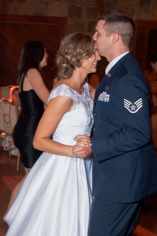 Bride and Groom Dancing | San Antonio Wedding Photographer