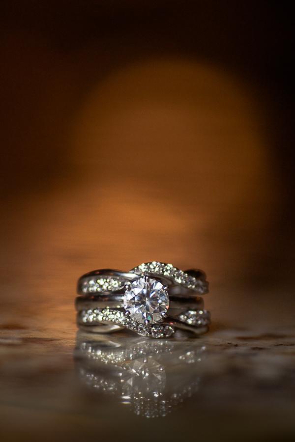 Bride's Wedding Ring | San Antonio Wedding Photographer