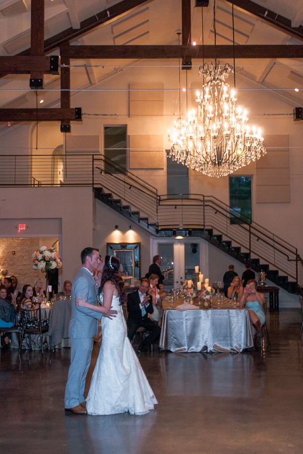 Wedding Reception at The Lodge at Bridal Veil Falls | San Antonio Wedding Photographer