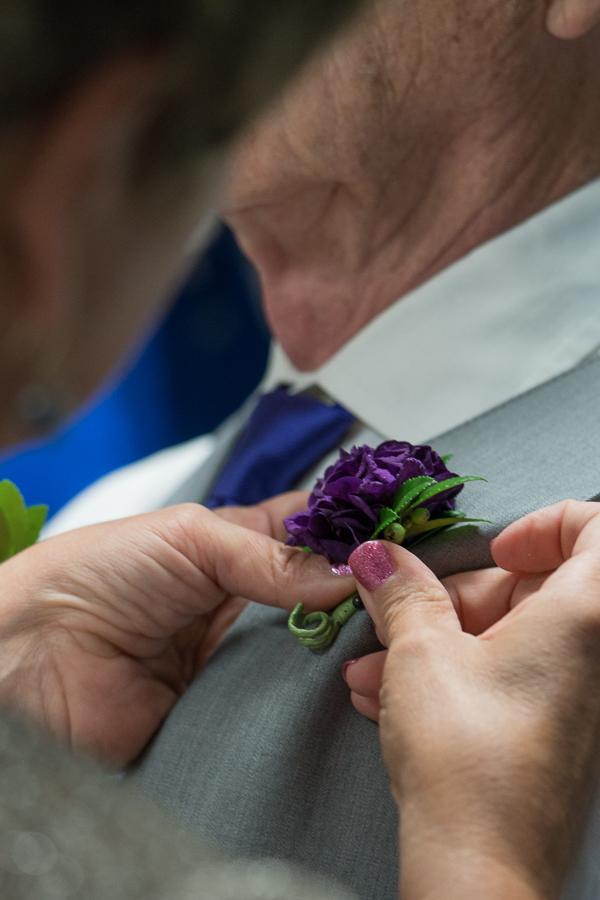 Groom Getting Ready | San Antonio Wedding Photography